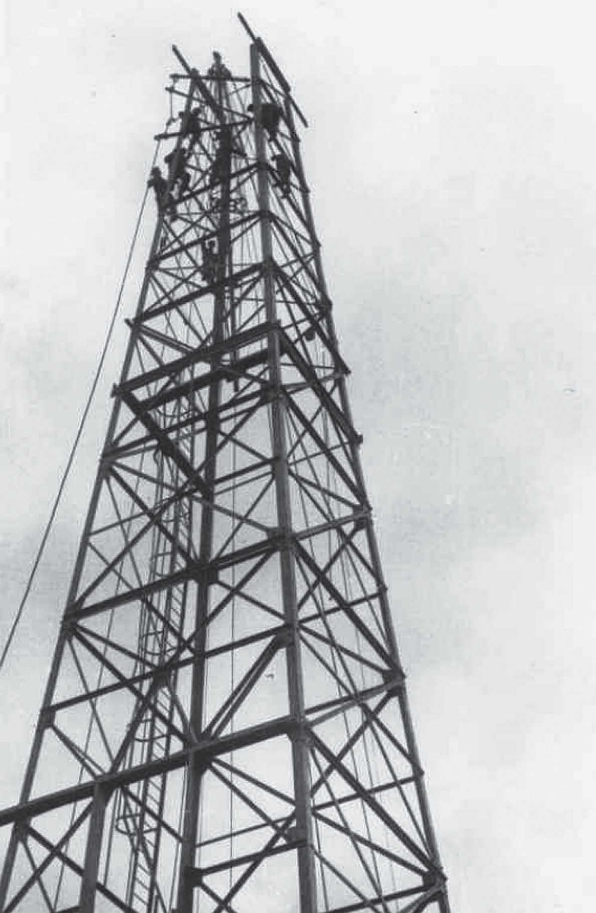 A zalaegerszegi finomító építése 1952-ben