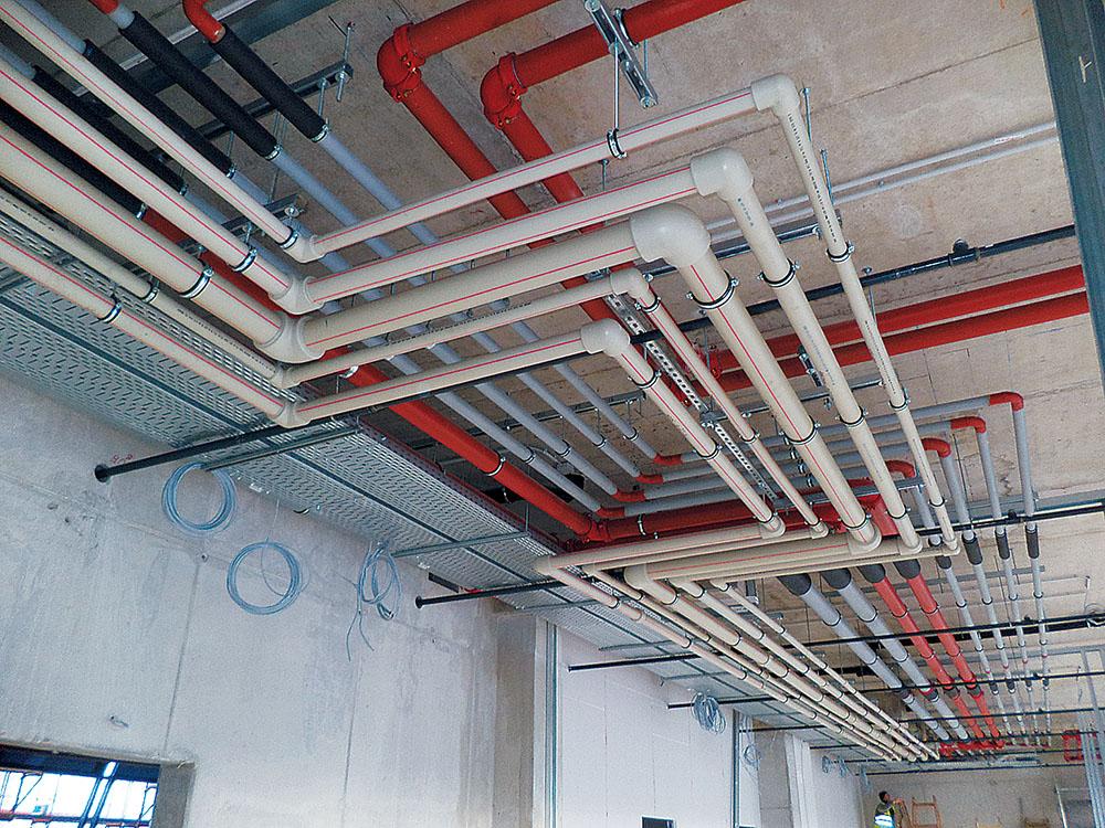 A Ferencvárs új, modern stadionjába beépített polipropilén vízvezetékek