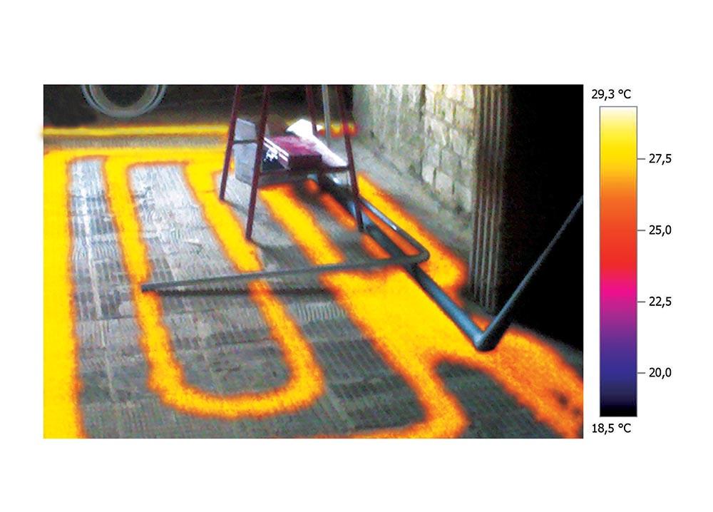 infra és valós kép egymáson