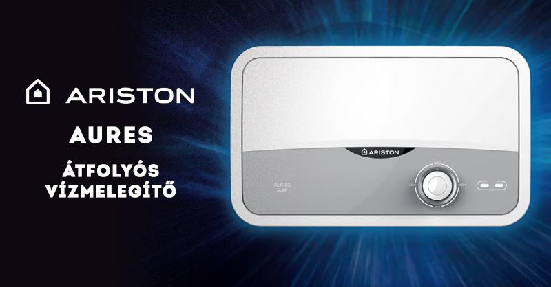 Ariston Aures átfolyós vízmelegítő