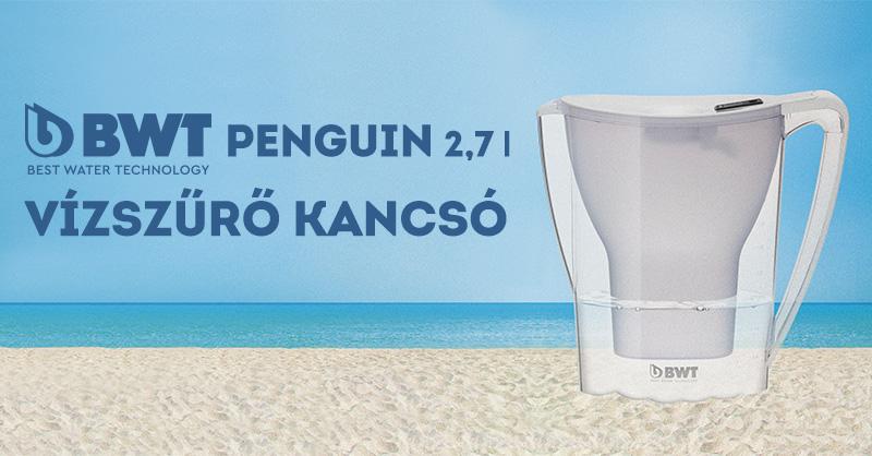 BWT Penguin vízszűrő kancsó