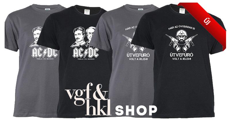 Új pólók