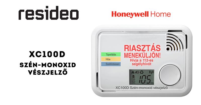 Honeywell Home XC100D szén-monoxid-vészjelző