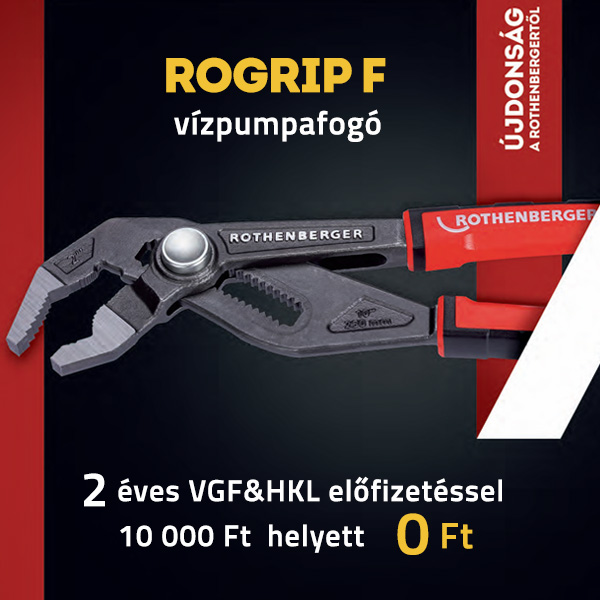 Rothenberger Rogrip F vízpumpafogó