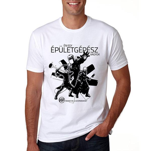 Épületgépész póló