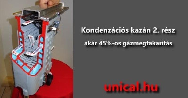 Akár 45%-os gázmegtakarítás
