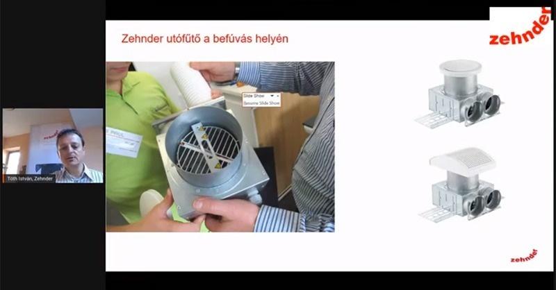 Páramentesítés, fűtés, hűtés eszközei a szellőztető rendszerben