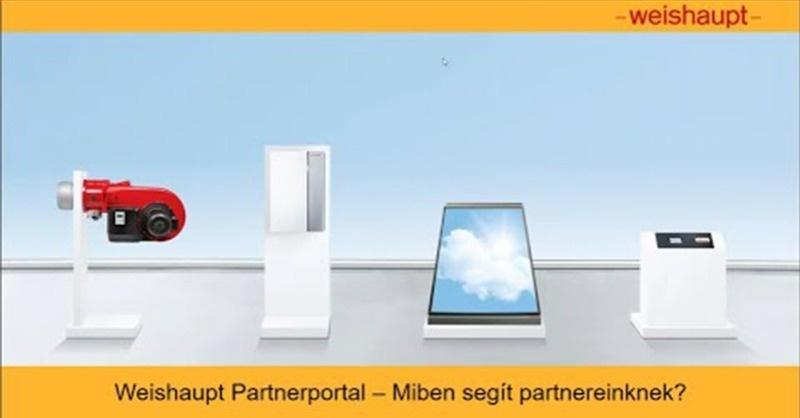 Weishaupt Partnerportál – miben segít partnereinknek?